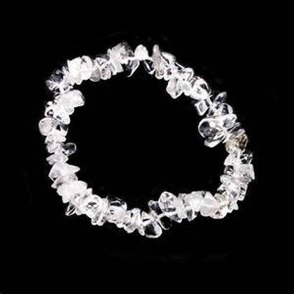 Gemstone Chip bracelets Quartz