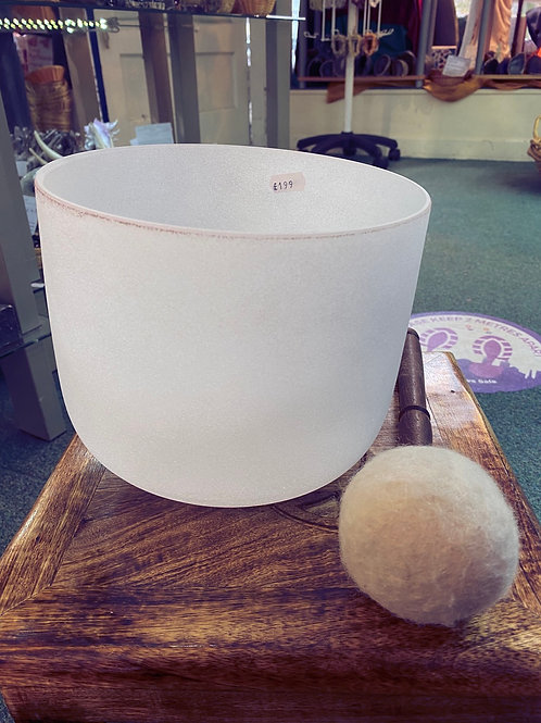 Handmade Quartz Singing Bowl