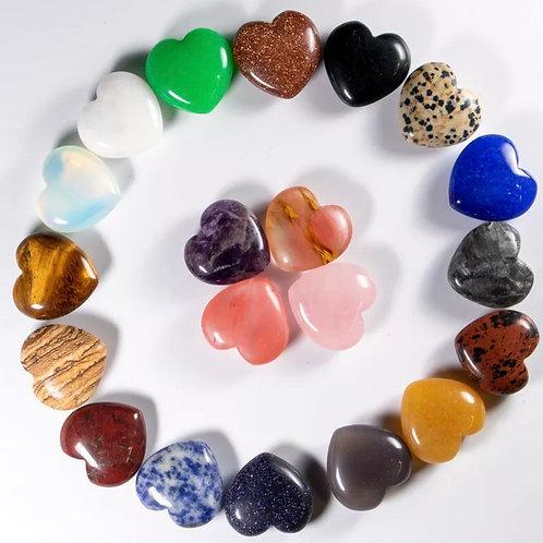 Hearts: 25-30mm Mixed