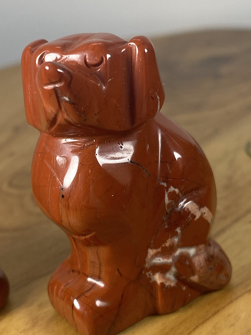 Dog: red jasper