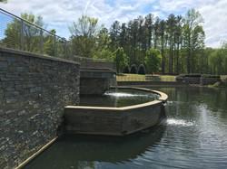 Stormwater Retention Pond & Fountain