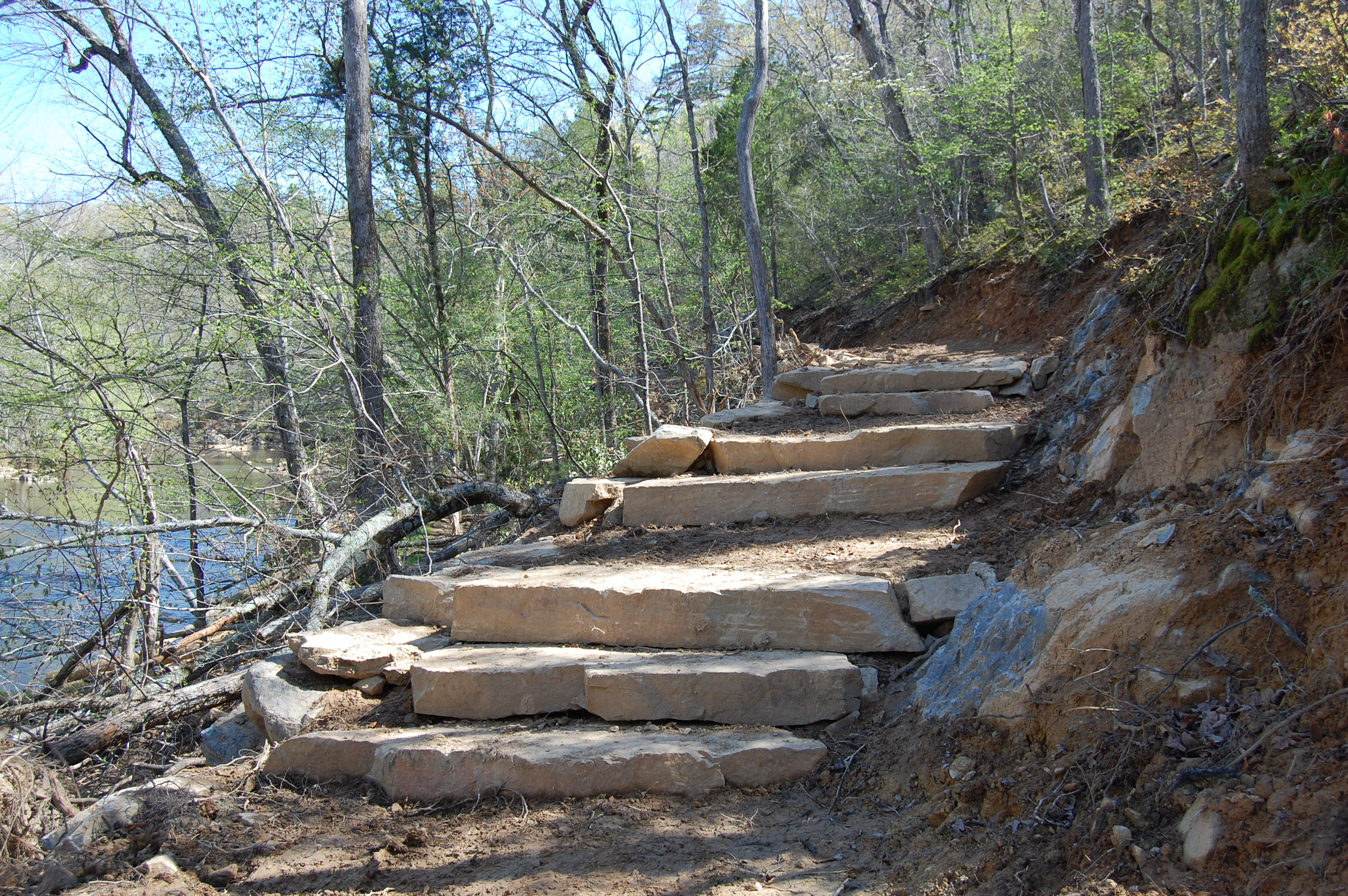 Trail During Construction