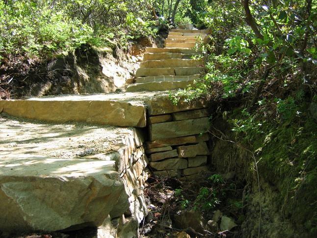 Jomeokee Trail Stone Stairs