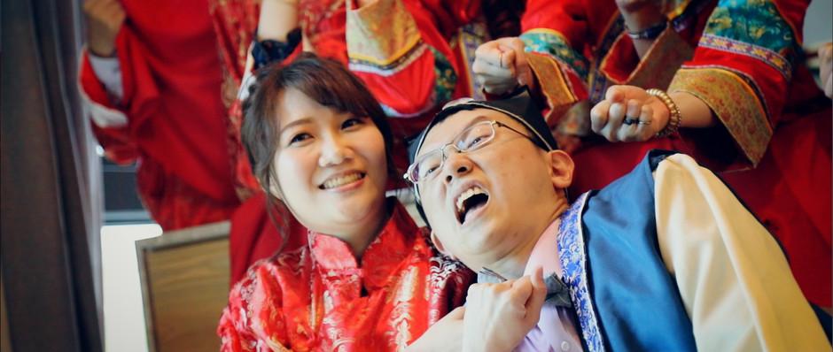 [婚禮]冠璋+薇文 結婚 靈糧堂
