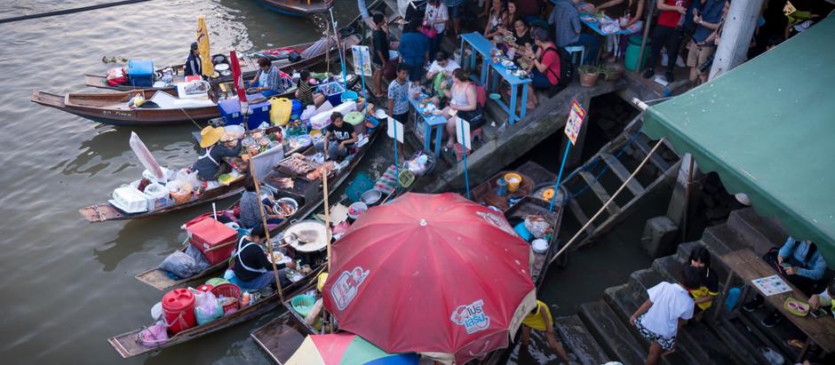 [曼谷]泰國一日行 下篇 安帕瓦雙水上市場