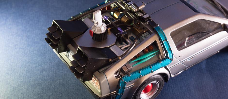 [模型] 1/24 回到未來III DeLorean