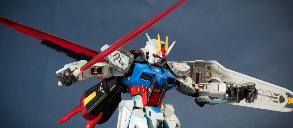 [模型]RG 1/144 Aile Strike Gundam