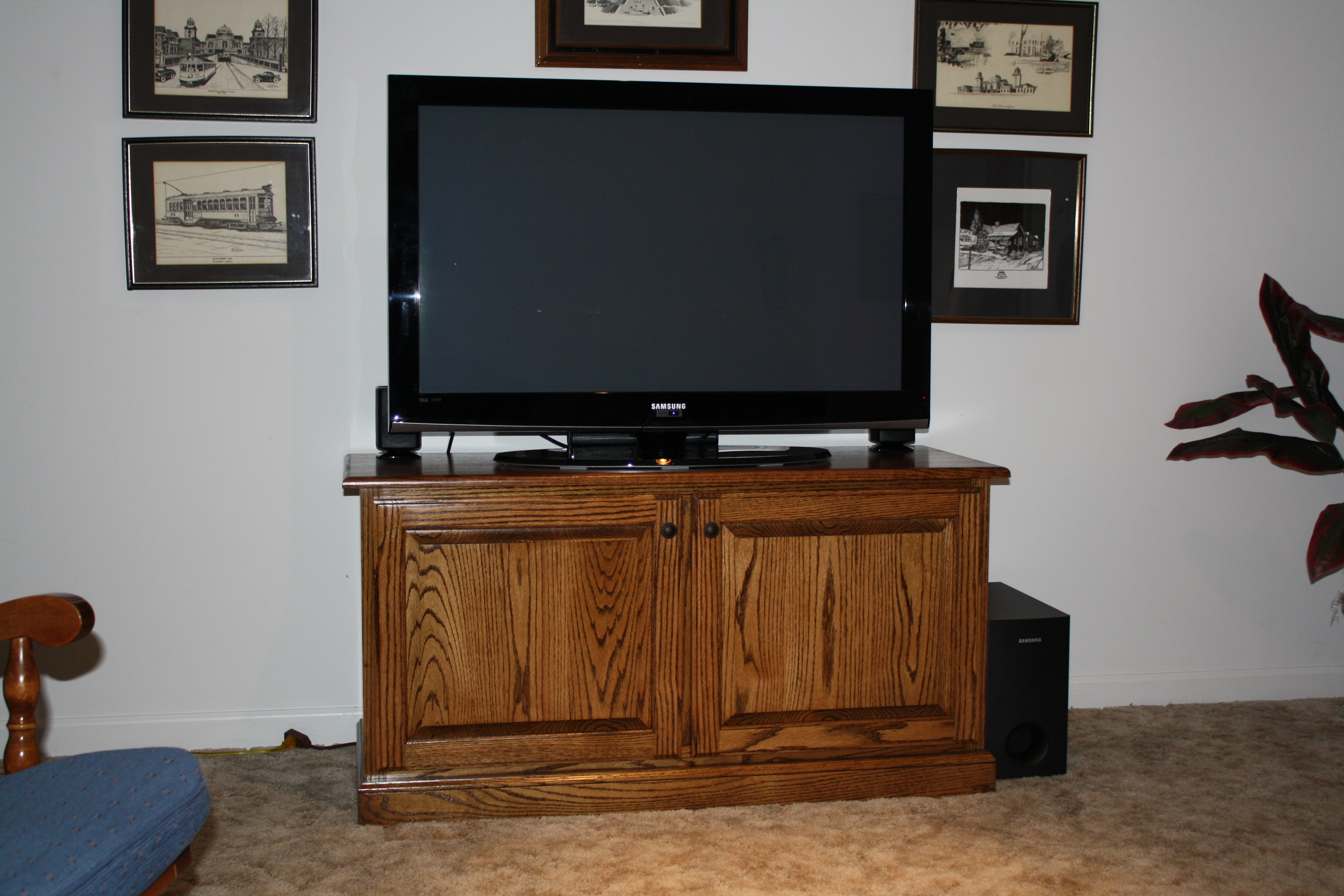 Justice TV Stand 1