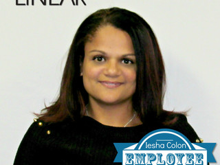 Congratulations to Iesha Colon, MCM Closing Specialist in Linear's Rhode Island Headquarters for bei