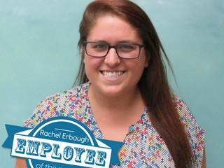 Congratulations to Rachel Erbaugh, Tech Support Specialist in our RI office  for being selected as t