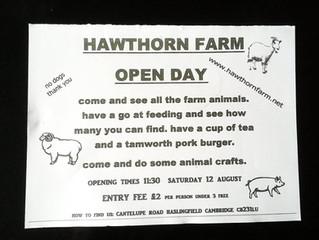 Hawthorn Farm Open day