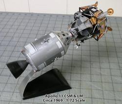 Apollo-11 CSM/LM Lunar Approach