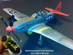 """North American P-51D """"Red Tails"""""""