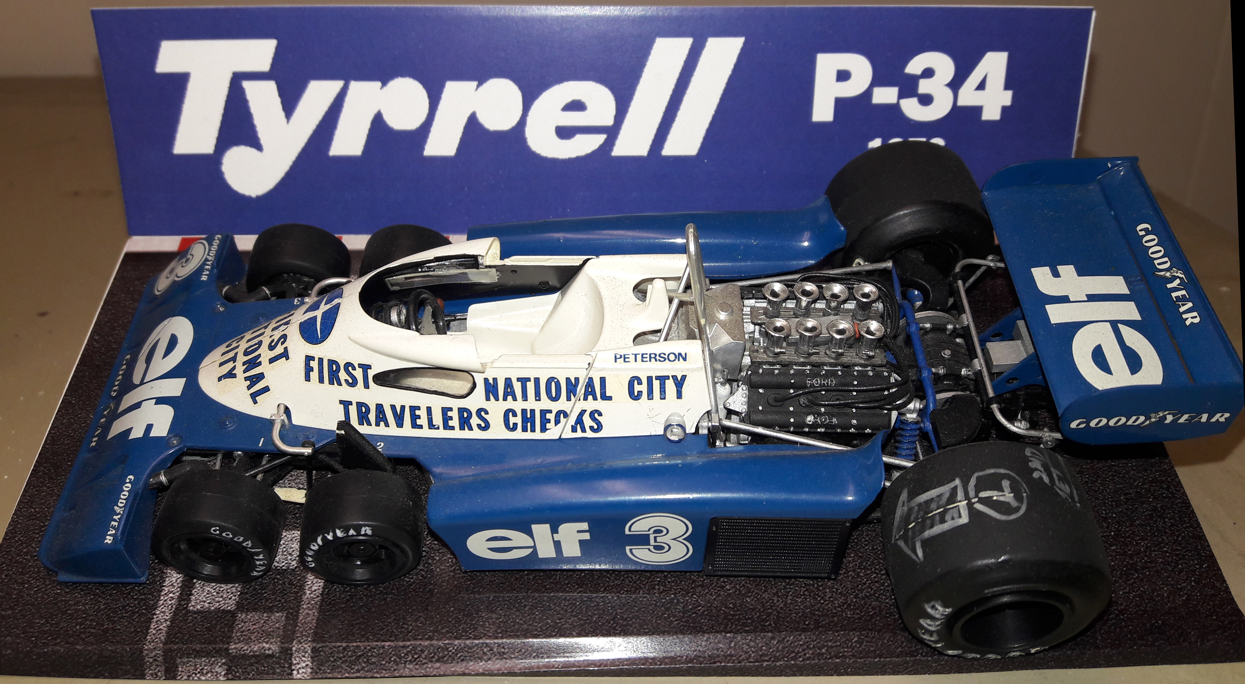 Elf-Tyrell-Ford P-34 1976