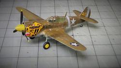 """Curtis P-40-E """"Aluetian Tigers"""""""
