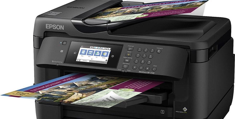 Impresora con Sistema de Tinta Adaptado EPSON WF-7720