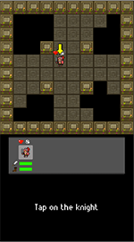 Image of first time playing knight tutorial
