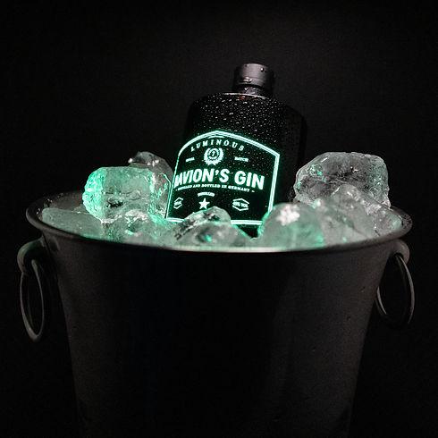leuchtender gin