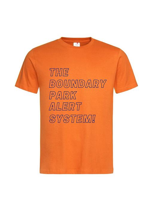 BPAS! T-Shirt / Tangerine