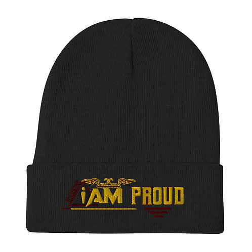 i am proud Embroidered Beanie