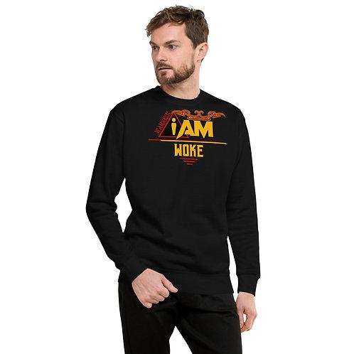 i am woke men's Fleece Pullover