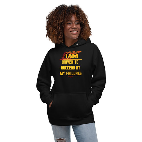 i am driven to success by my failures women's Hoodie