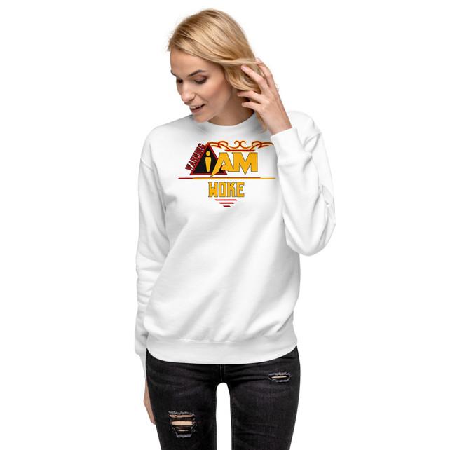 unisex-fleece-pullover-white-front-6015c