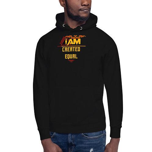 i am created equal men's Hoodie