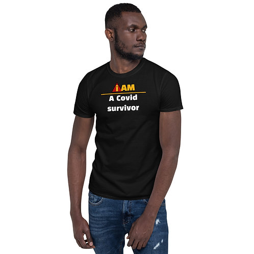 i am a Covid survivor men's t-shirt