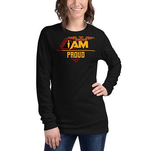 i am proud woman's Long Sleeve Tee