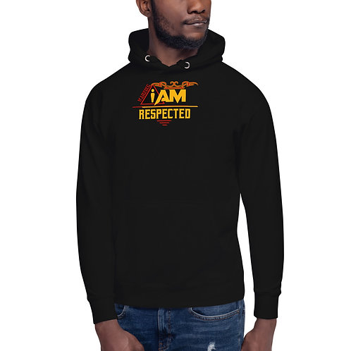 i am respected men's Hoodie