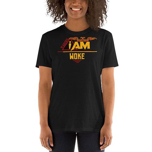 i am woke women's T-Shirt