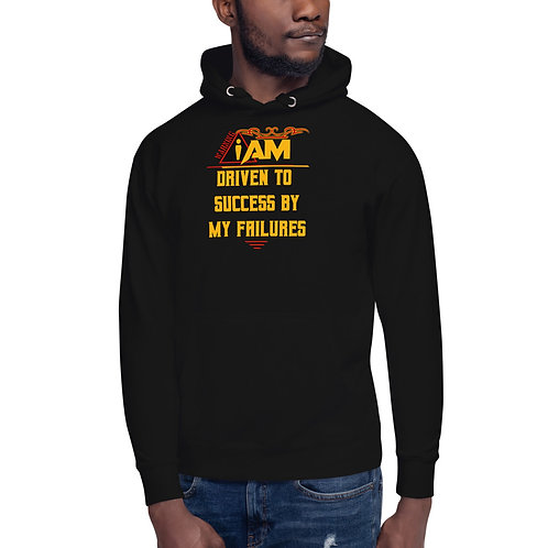 i am driven to success by my failures men's Hoodie