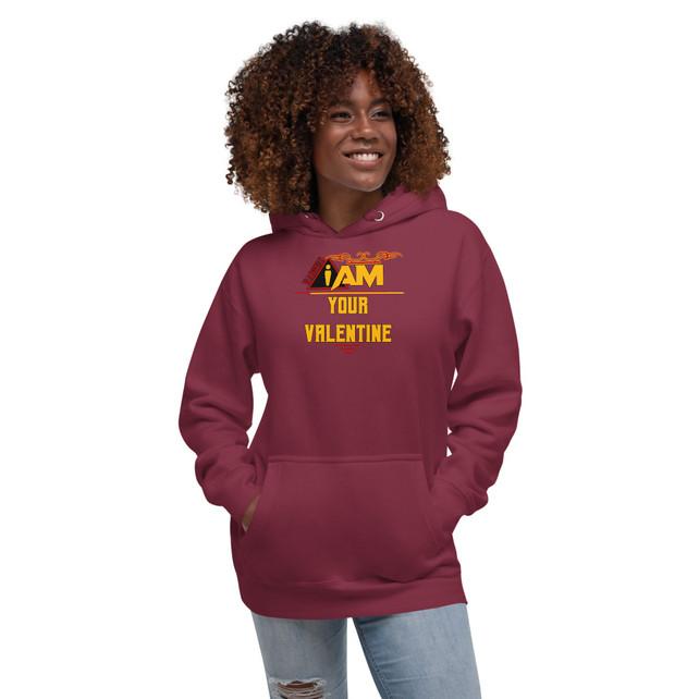 unisex-premium-hoodie-maroon-front-60158