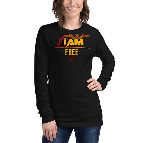 i am free woman's Long Sleeve Tee