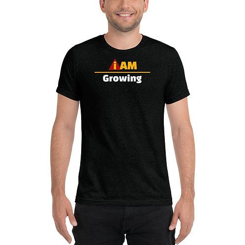 i am growing men t-shirt