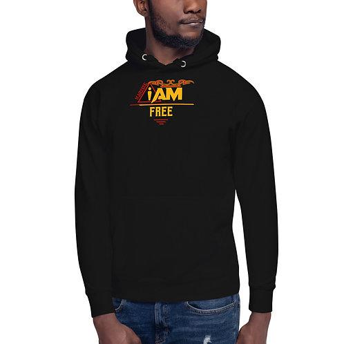 i am free men's Hoodie
