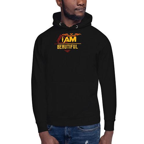 i am beautiful men's Hoodie