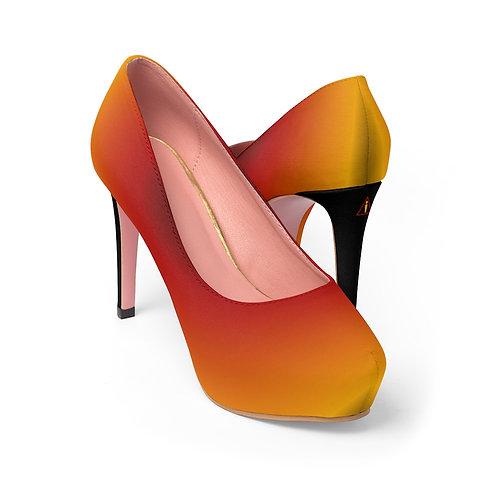 WLD-Design Sun Women's Platform Heels by Warning Label Apparel