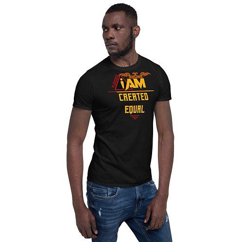 i am created equal men's T-Shirt