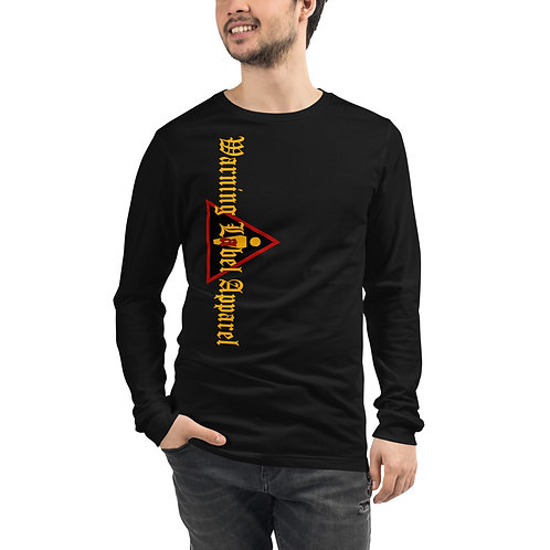WLA-Design Long Sleeve Tee by Warning Label Apparel