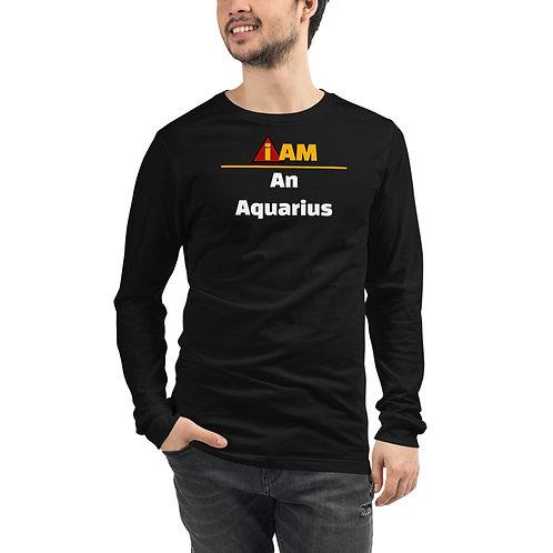 i am an Aquarius men's Long Sleeve Tee