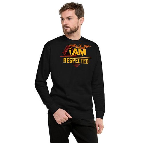 i am respected men's Fleece Pullover