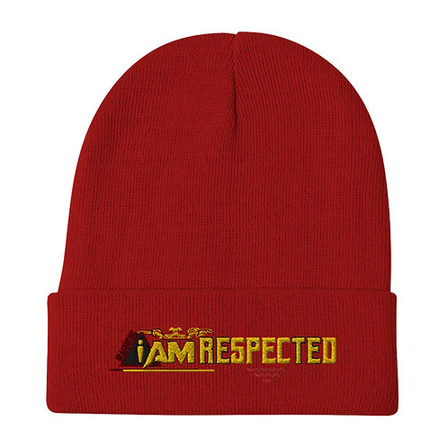 i am respected Embroidered Beanie