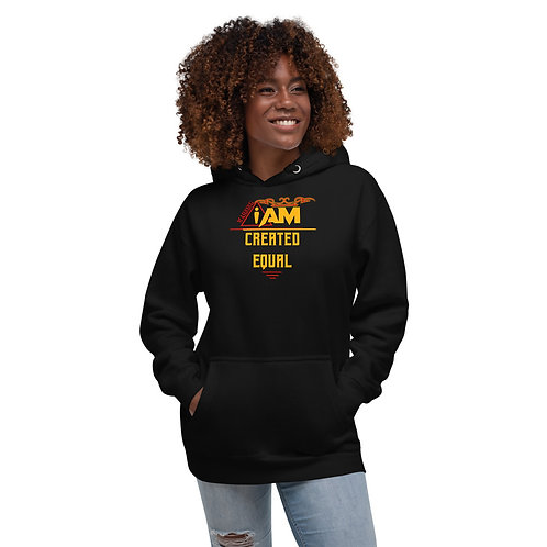 i am created equal women's Hoodie