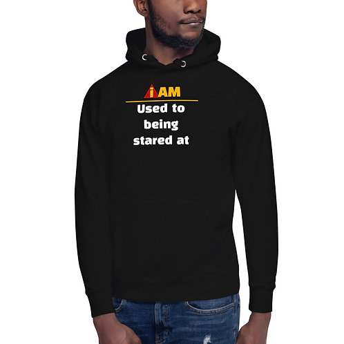 i am used to being stared at mens Hoodie