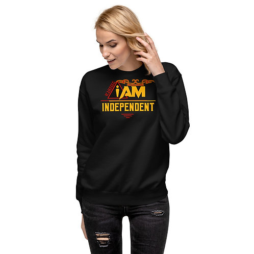 i am independent women's Fleece Pullover