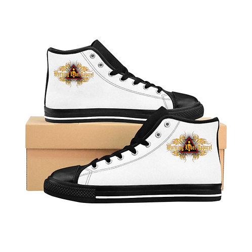 Men's Warning Label Apparel logo High-top Sneakers
