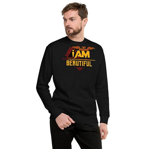 i am beautiful men's Fleece Pullover