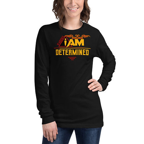 i am determined women's Long Sleeve Tee